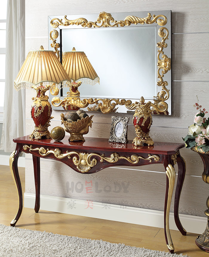 ANTIQUE CONSOLE SETS